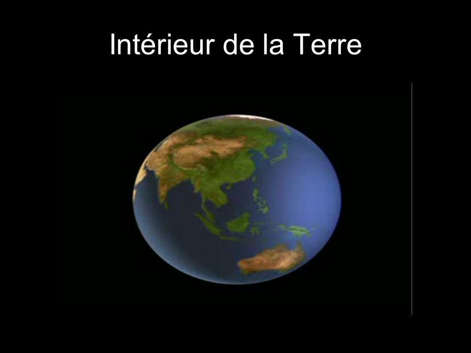 Intérieur de la Terre