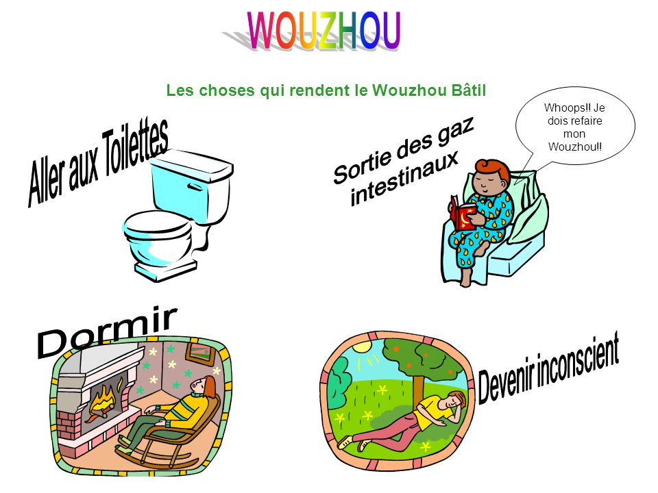 Les choses qui rendent le Wouzhou Bâtil