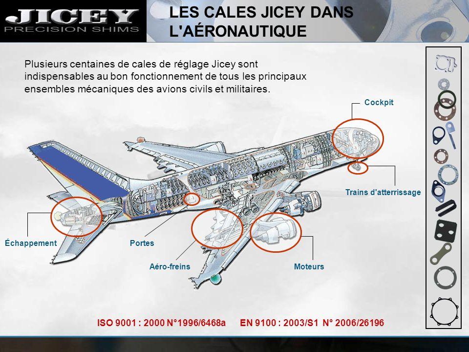 LES CALES JICEY DANS L AÉRONAUTIQUE
