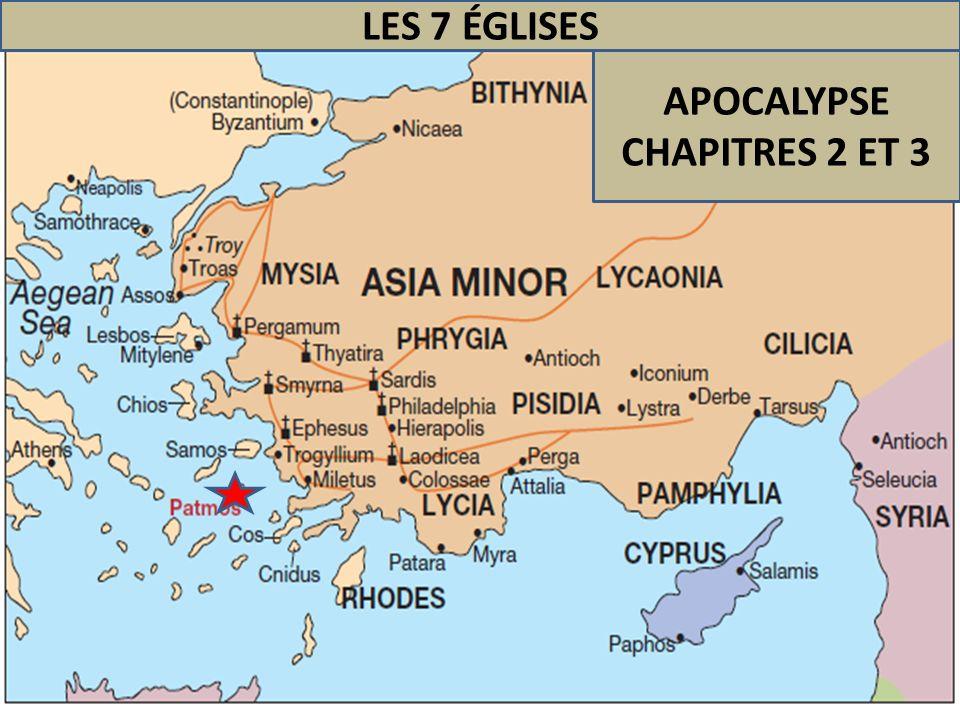 APOCALYPSE CHAPITRES 2 ET 3