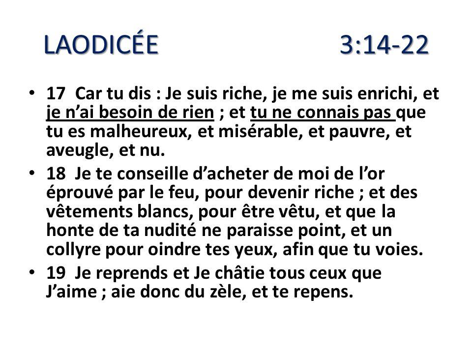 LAODICÉE 3:14-22