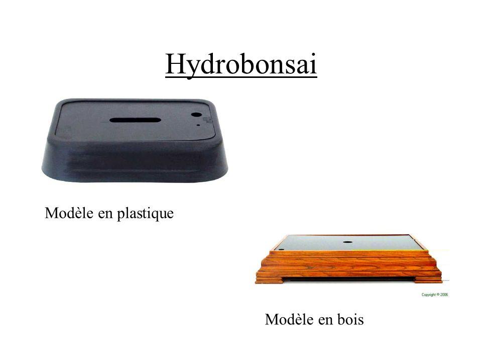 Hydrobonsai Modèle en plastique Modelo de madera Modèle en bois