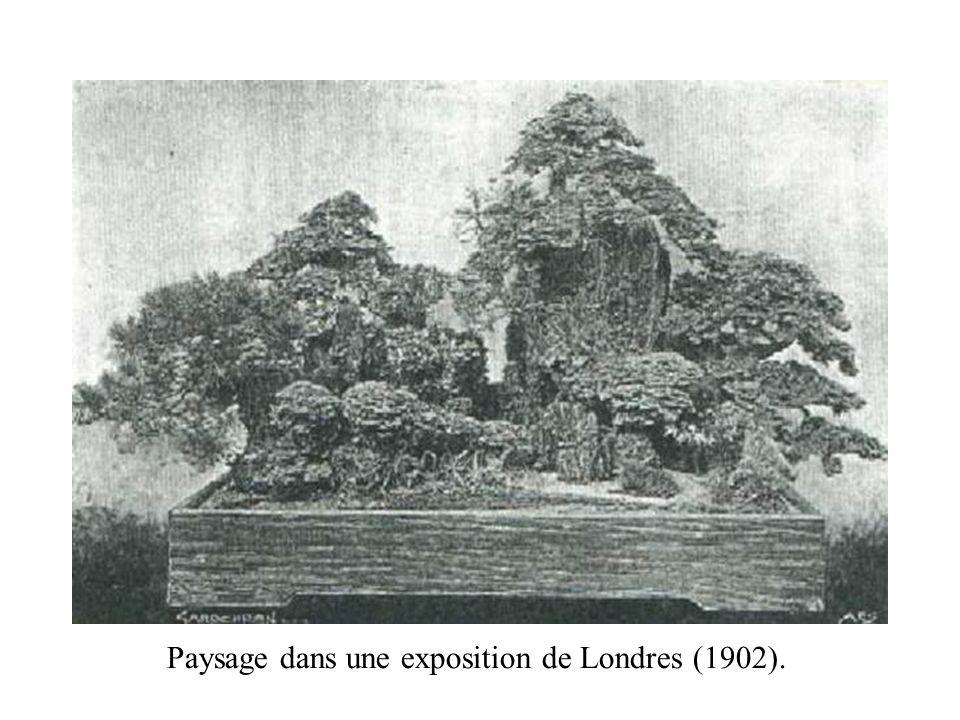 Paysage dans une exposition de Londres (1902).