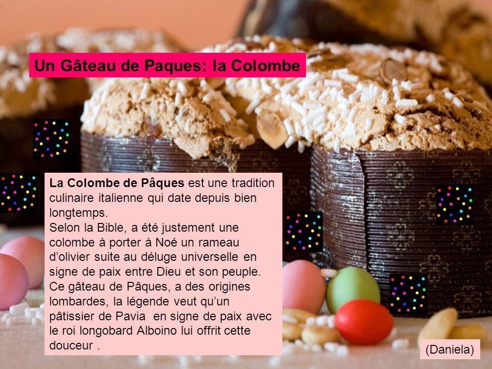 Un Gâteau de Paques: la Colombe