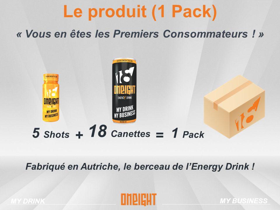 Le produit (1 Pack) 18 Canettes
