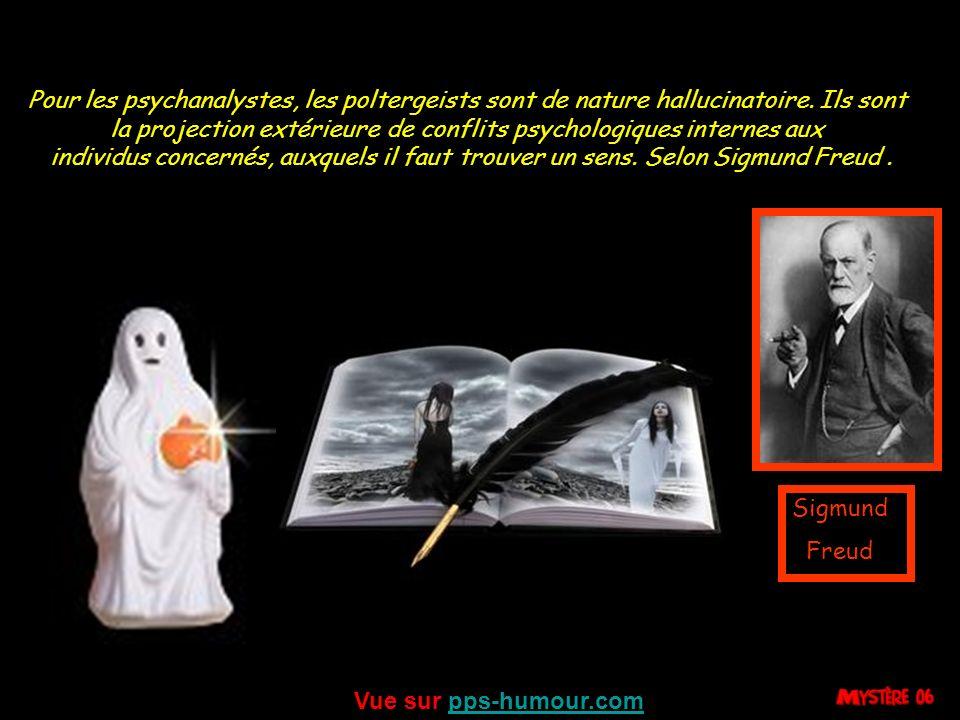 la projection extérieure de conflits psychologiques internes aux