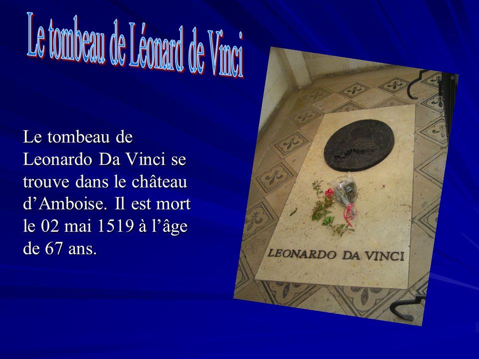 Le tombeau de Léonard de Vinci