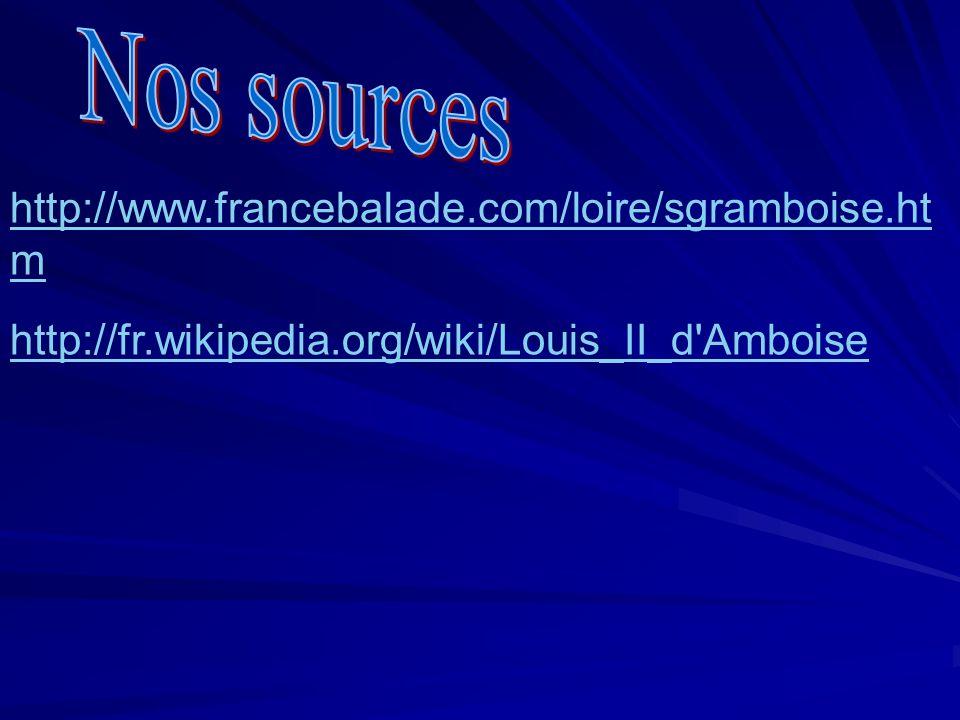 Nos sources http://www.francebalade.com/loire/sgramboise.htm