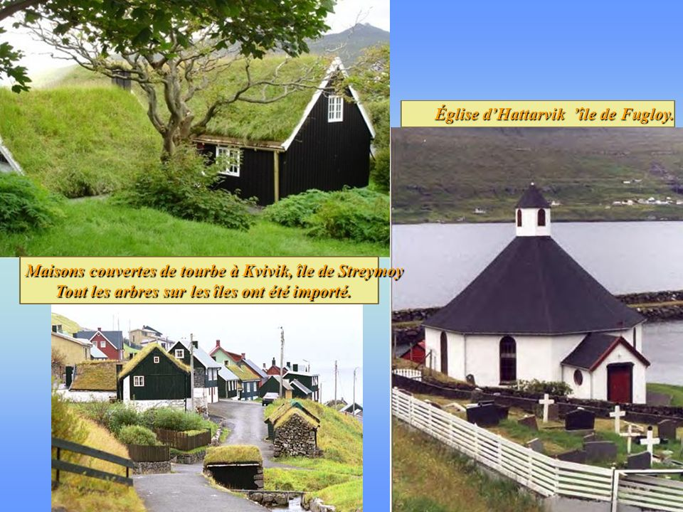 Église d'Hattarvik 'île de Fugloy.