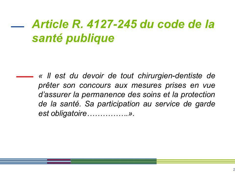 Article R. 4127-245 du code de la santé publique
