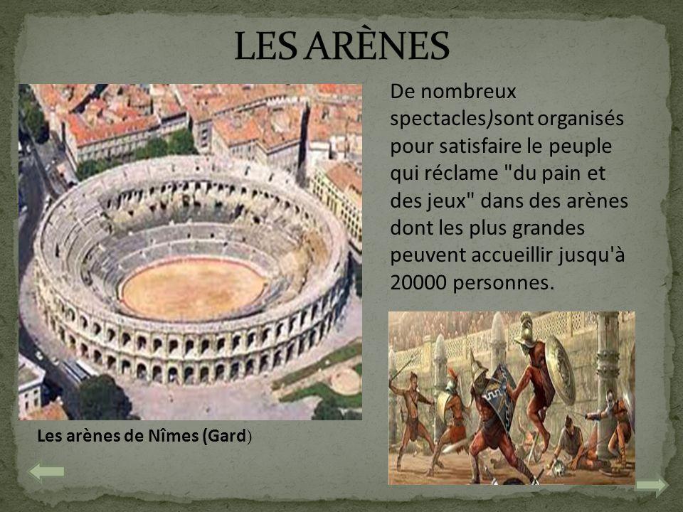 Les arènes de Nîmes (Gard)