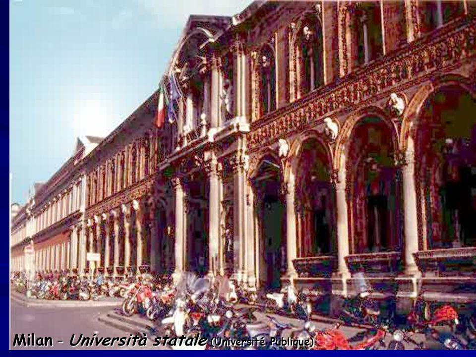 Milan – Università statale (Université Publique)