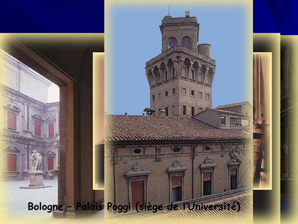 Bologne – Palais Poggi (siège de l'Université)