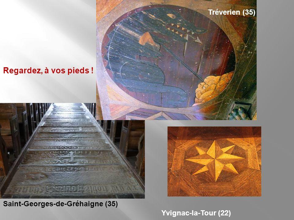 Regardez, à vos pieds ! Tréverien (35) Saint-Georges-de-Gréhaigne (35)