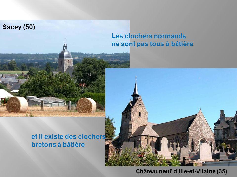 Les clochers normands ne sont pas tous à bâtière