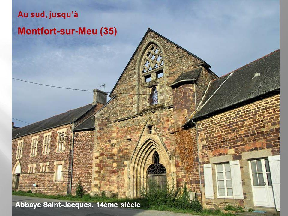 Montfort-sur-Meu (35) Au sud, jusqu'à