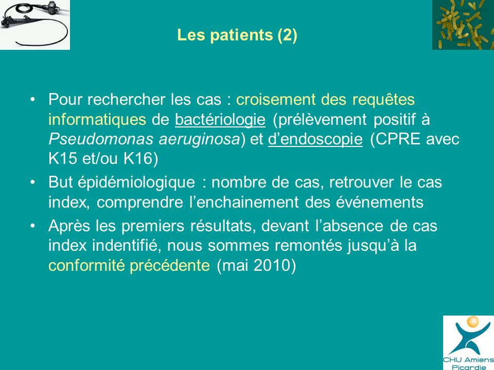 Les patients (2)