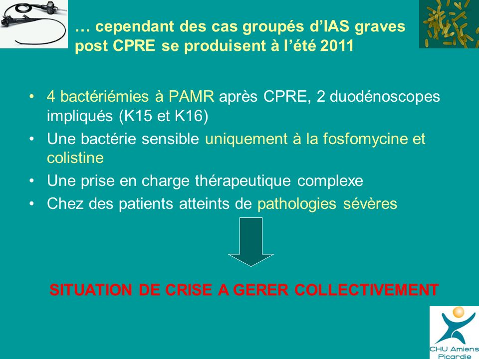 SITUATION DE CRISE A GERER COLLECTIVEMENT
