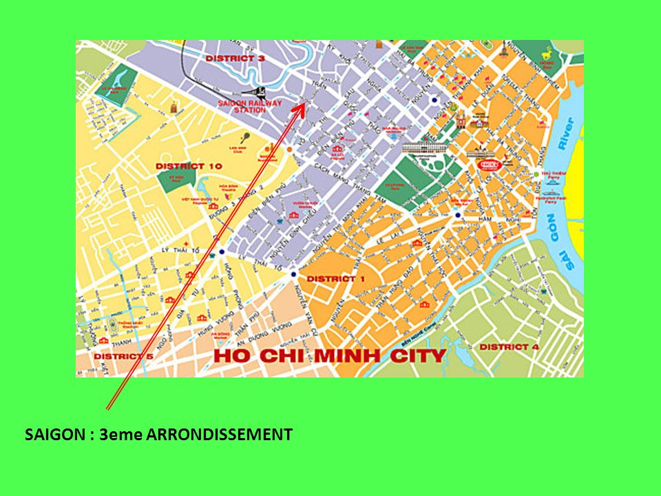 SAIGON : 3eme ARRONDISSEMENT