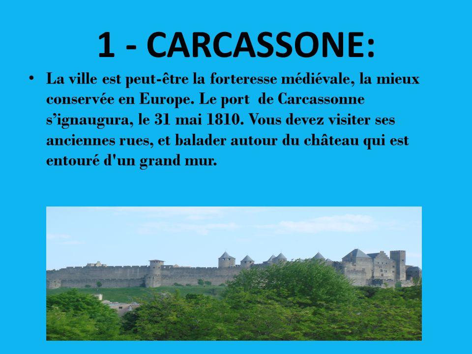 1 - CARCASSONE: