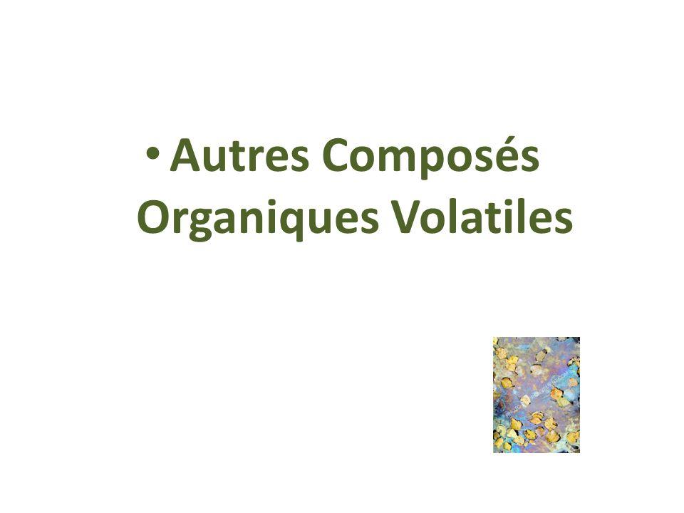 Autres Composés Organiques Volatiles