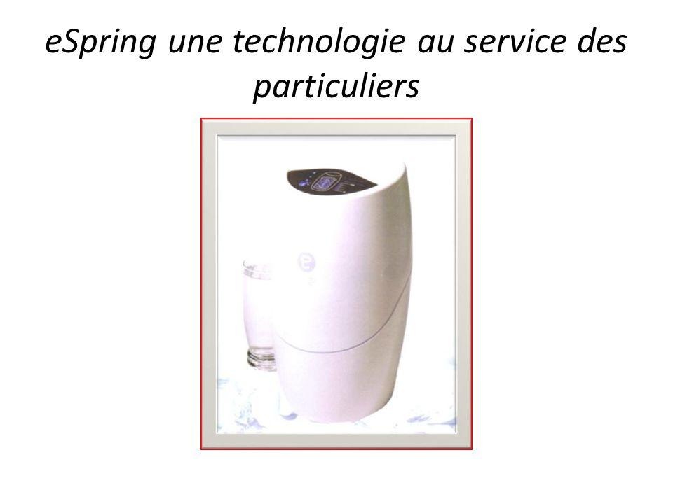 eSpring une technologie au service des particuliers