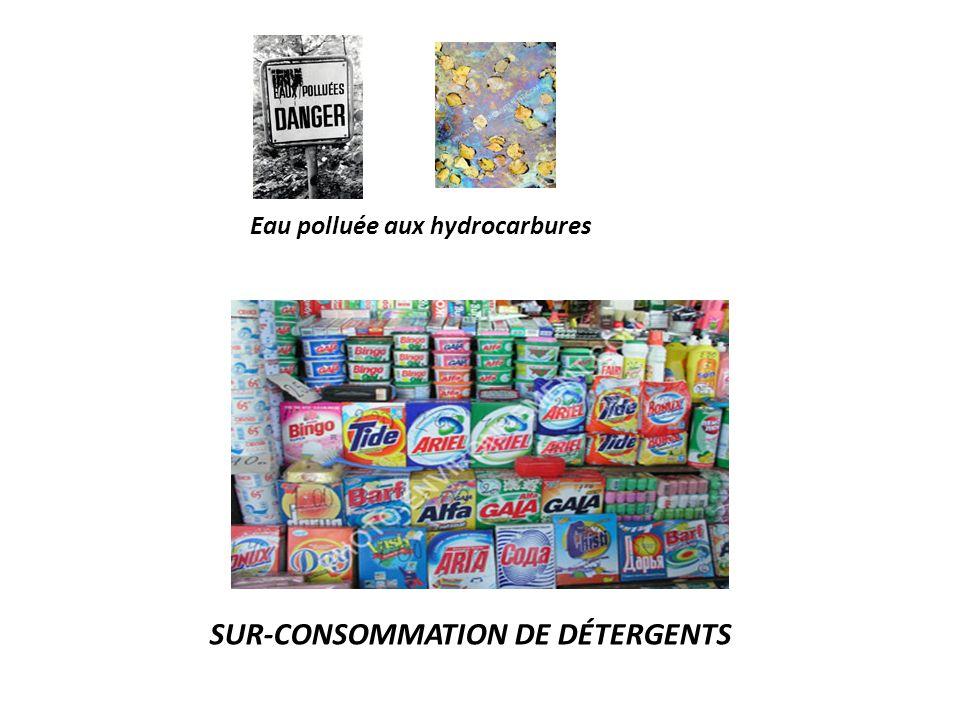 Sur-consommation de détergents