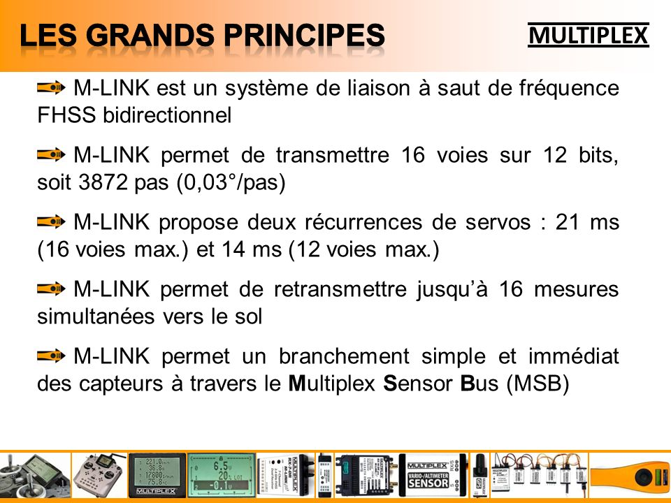 LES GRANDS PRINCIPES MULTIPLEX