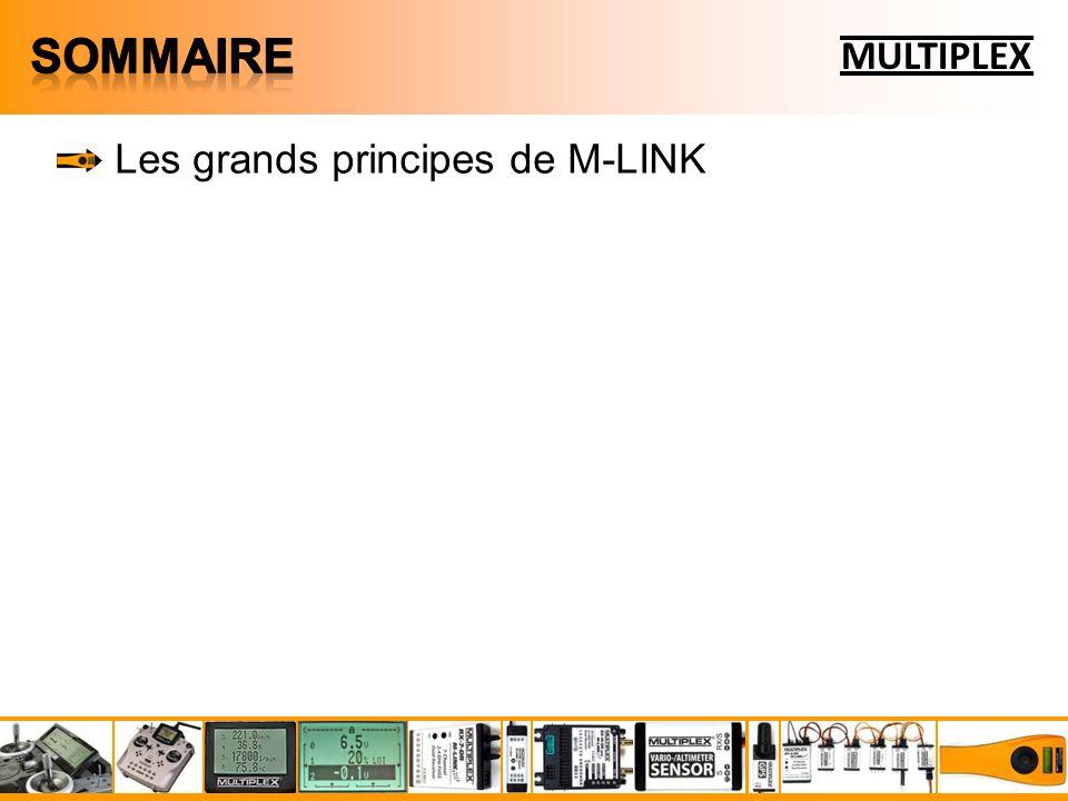 Sommaire MULTIPLEX Les grands principes de M-LINK