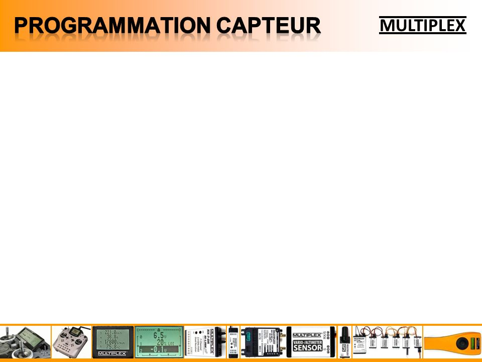 PROGRAMMATION CAPTEUR
