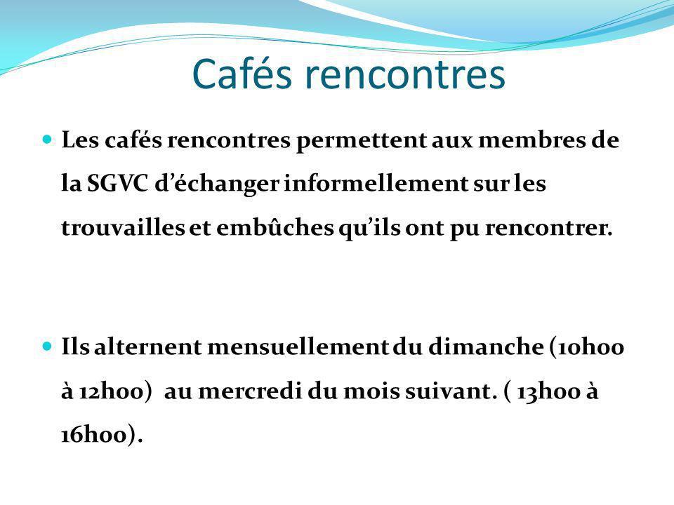 Cafés rencontres