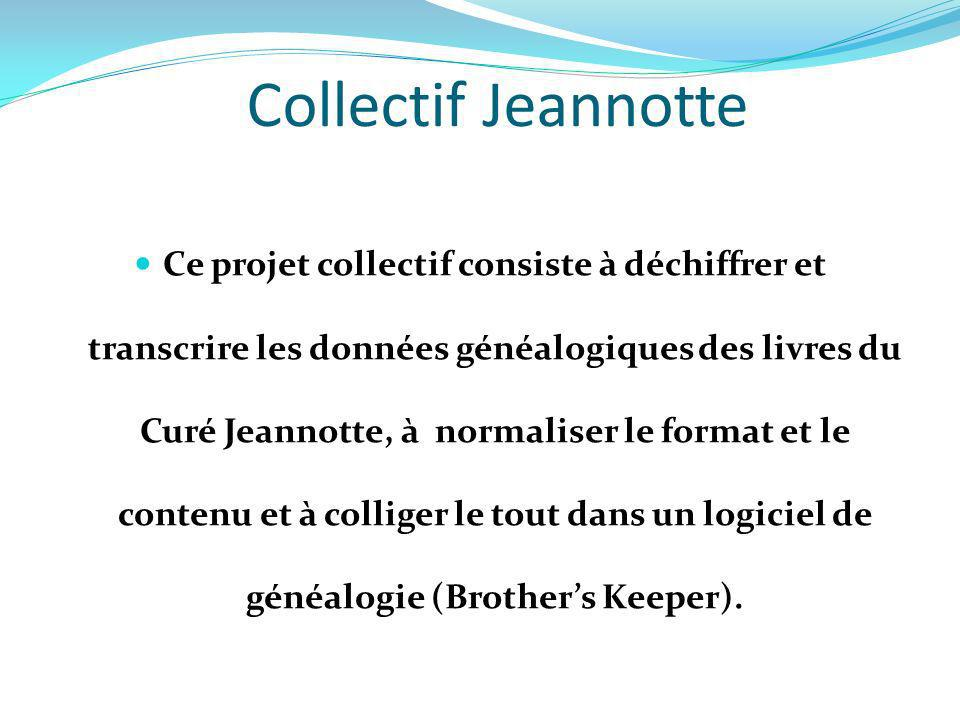 Collectif Jeannotte