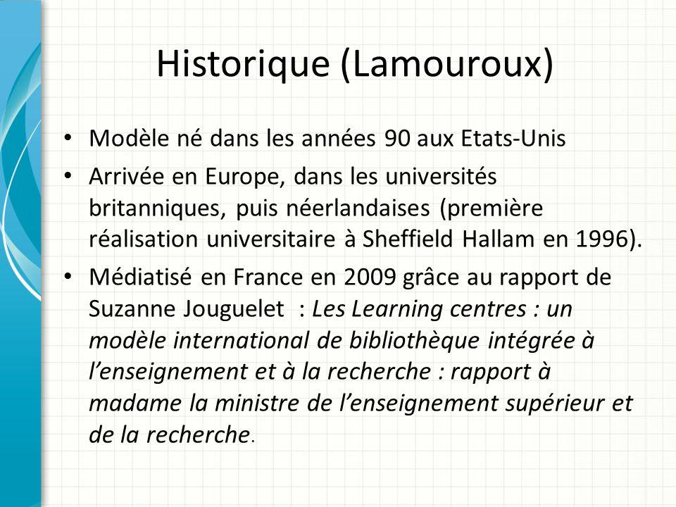 Historique (Lamouroux)
