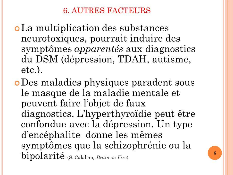 6. AUTRES FACTEURS