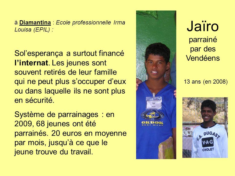 Jaïro parrainé par des Vendéens
