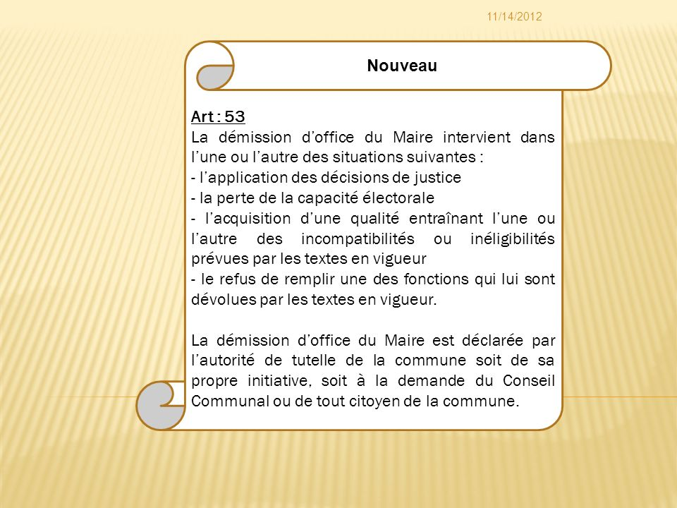 - l'application des décisions de justice