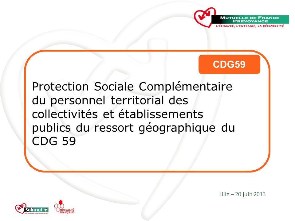 CDG59 Protection Sociale Complémentaire du personnel territorial des collectivités et établissements publics du ressort géographique du CDG 59.