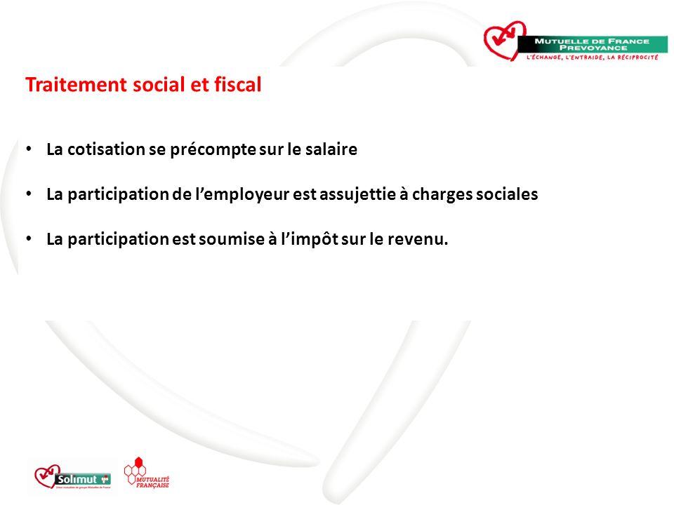 Traitement social et fiscal