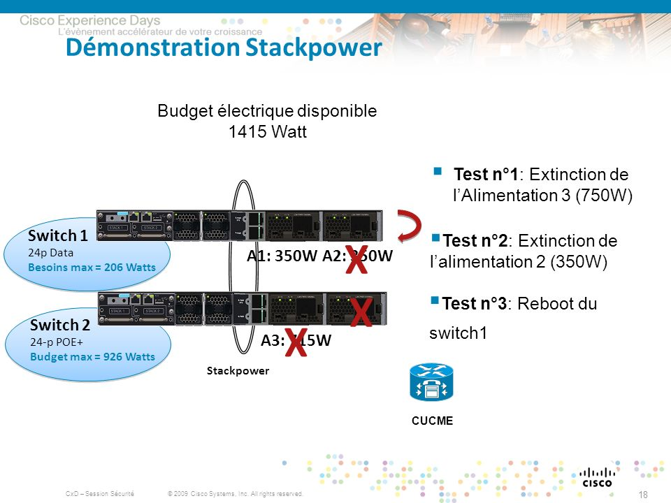 Démonstration Stackpower