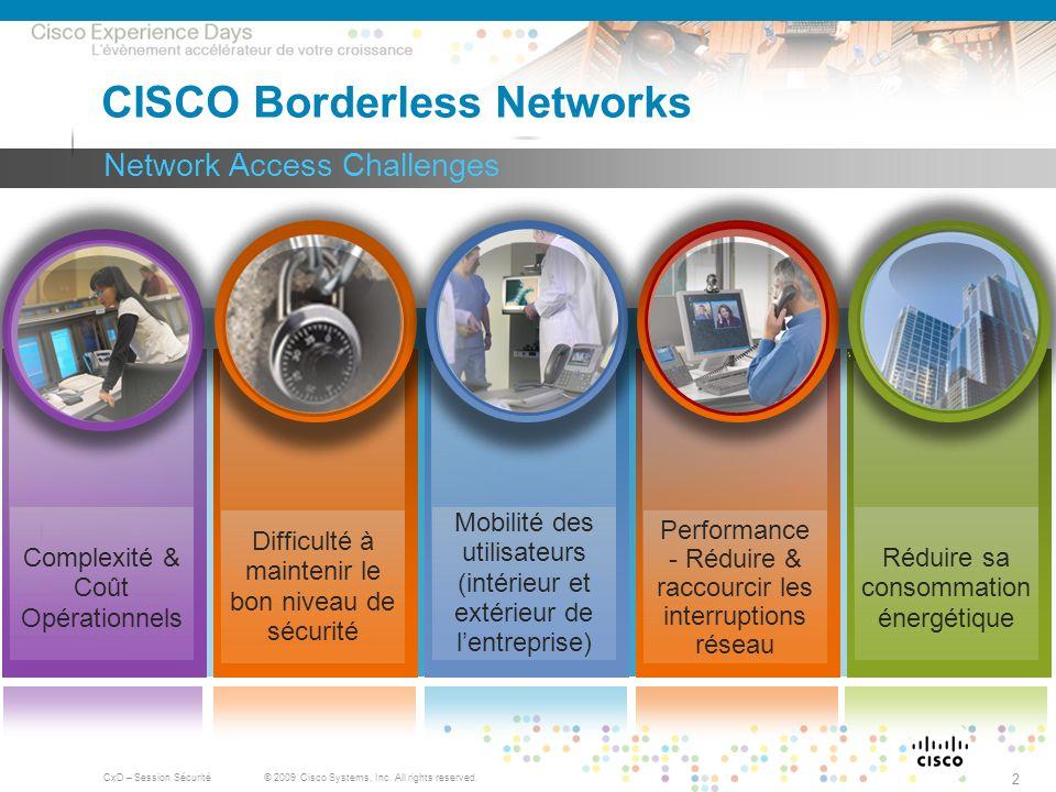 CISCO Borderless Networks