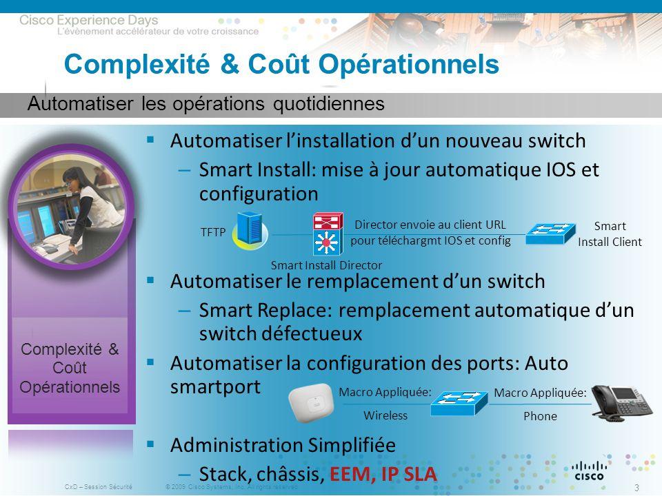 Complexité & Coût Opérationnels