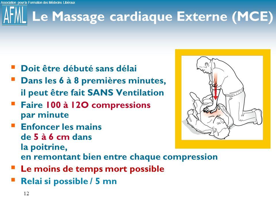Le Massage cardiaque Externe (MCE)
