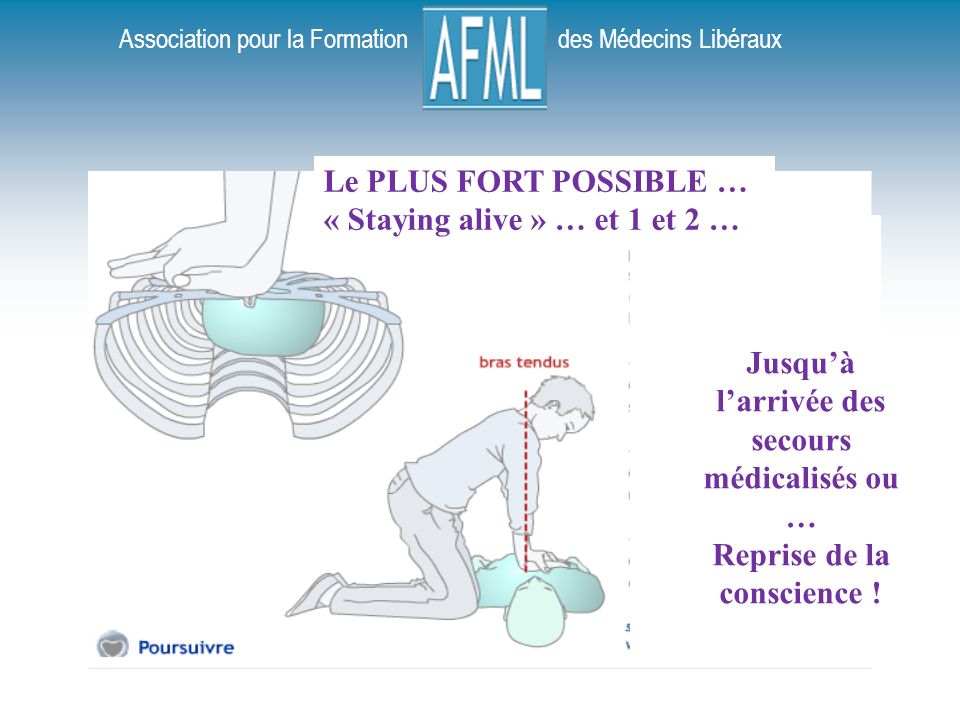 « Staying alive » … et 1 et 2 …