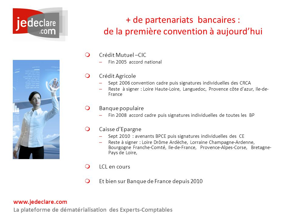 + de partenariats bancaires : de la première convention à aujourd'hui