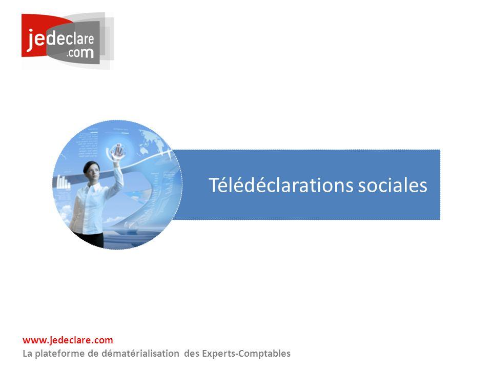 Télédéclarations sociales