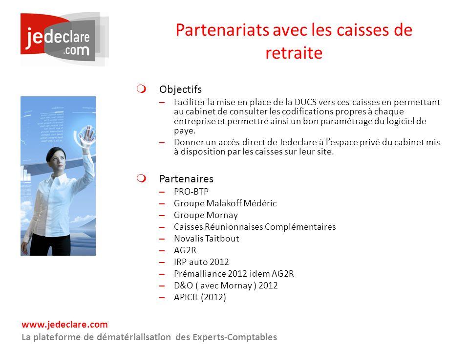 Partenariats avec les caisses de retraite