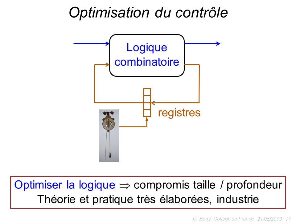 Optimisation du contrôle