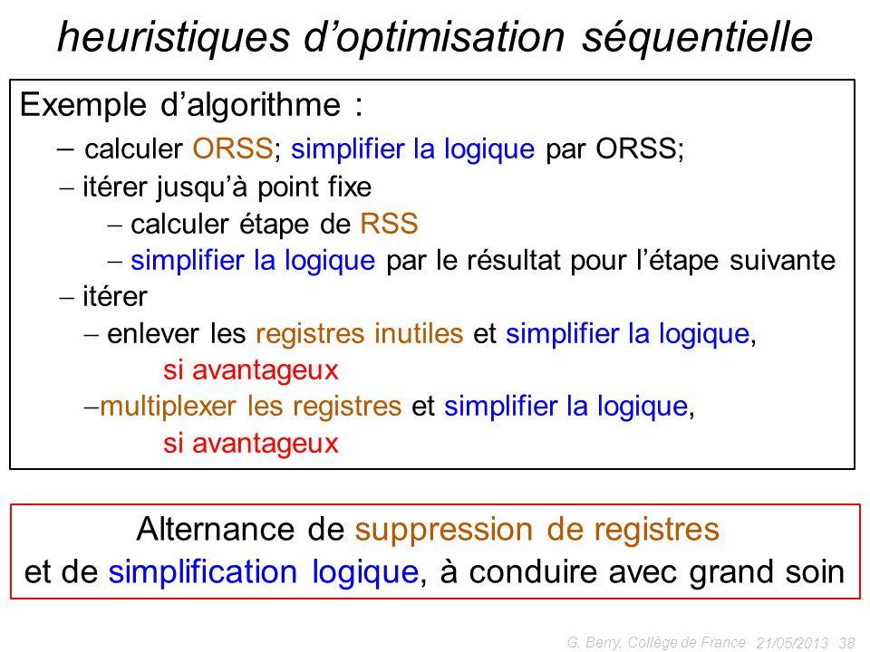 heuristiques d'optimisation séquentielle