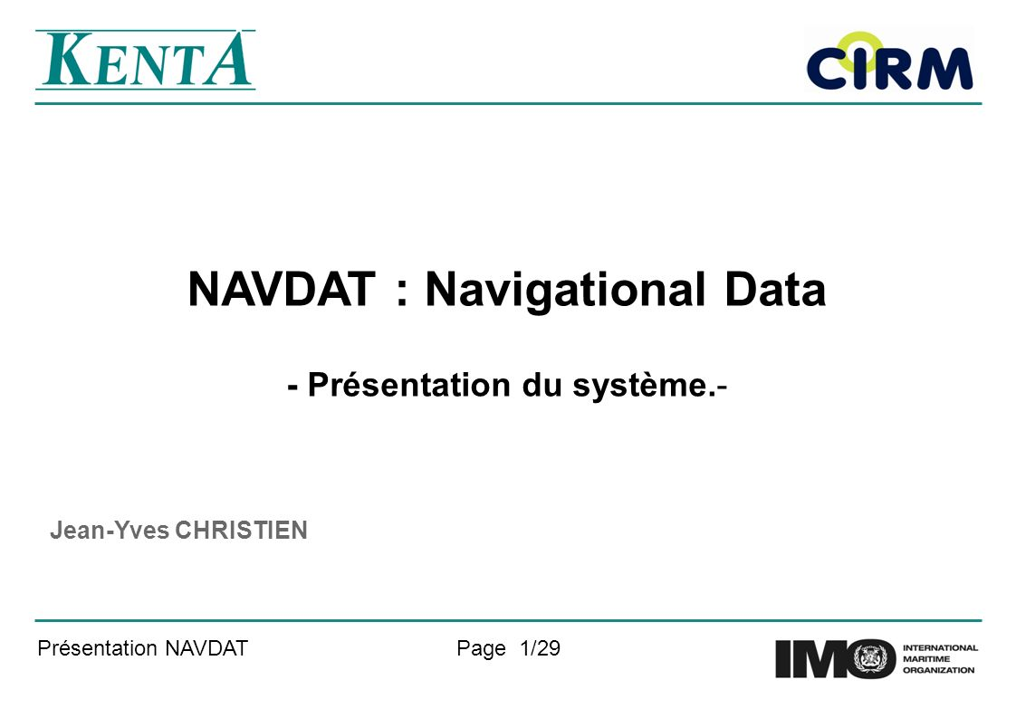 NAVDAT : Navigational Data