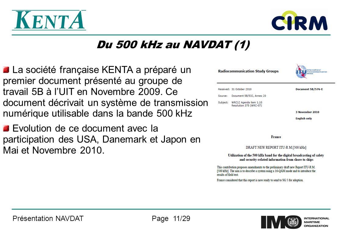 Du 500 kHz au NAVDAT (1)